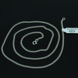 Łańcuszek Srebrny 60cm Pancerka ze srebra / Srebro 925