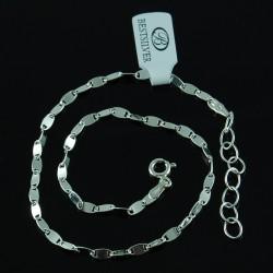 Bransoletka Srebrna / łańcuszek na nogę ze srebra 925