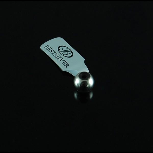 Stoper Srebrny do bransoletki modułowej Biżuteria modułowa