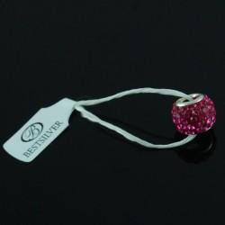 Koralik do biżuterii Fuchsia Swarovski Beads Biżuteria Modułowa