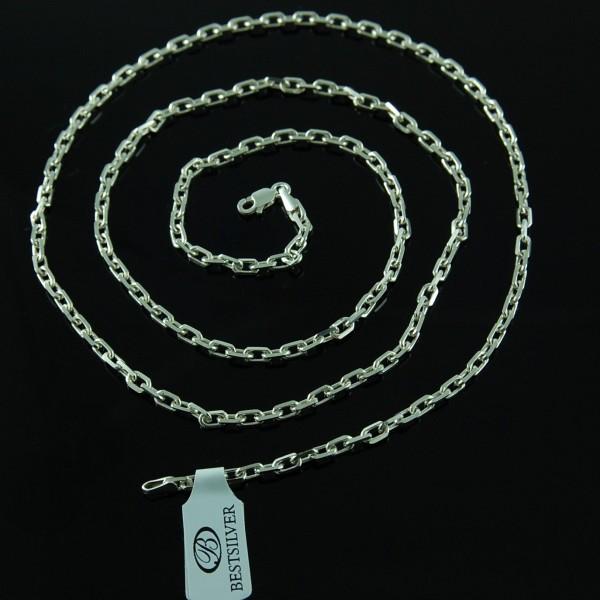 Łańcuszek Srebrny Ankier 3mm 60cm SREBRO 925