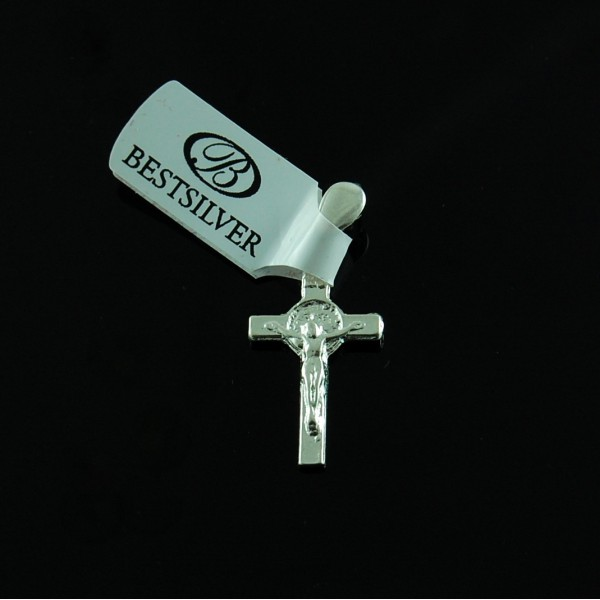 Krzyżyk Srebrny / Zawieszka męska SREBRO pr 925