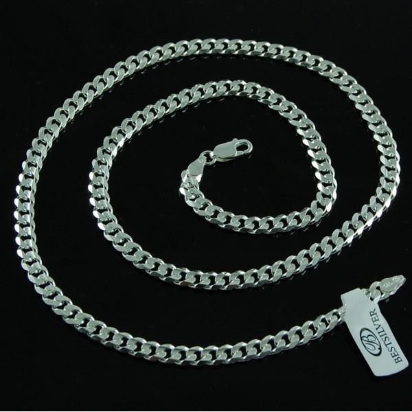 Łańcuszek Srebrny PANCERKA 55cm 5,3mm SREBRO 925