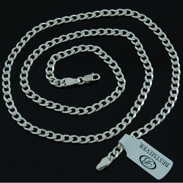ŁAŃCUSZEK SREBRNY PANCERKA MĘSKI 60 cm WARTO srebro