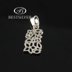 Zawieszka srebrna Kwiatki oryginalna srebro 925