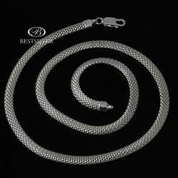 Naszyjnik srebrny tub Włoski 50cm 5mm ze srebra
