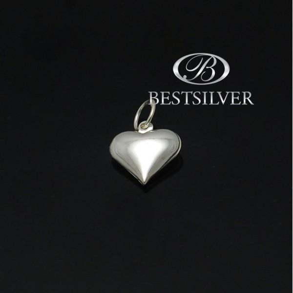 Srebrny wisiorek serce damski idealny na prezent
