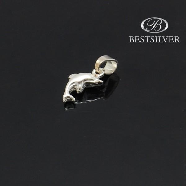 Zawieszka Srebrna na łańcuszek Delfin piękny wzór Srebro