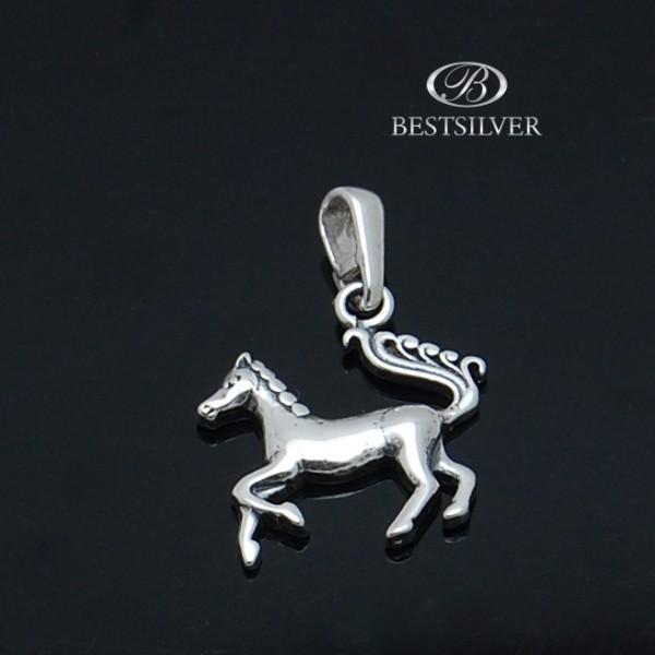 Zawieszka Srebrna piękny Koń Srebro 925