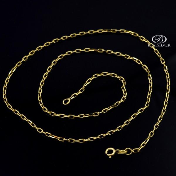 Złoty łańcuszek męski Ankier 50cm 2mm pr. 333