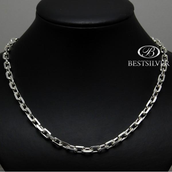 Męski łańcuch ANKIER w całości ze srebra 70cm 70 cm