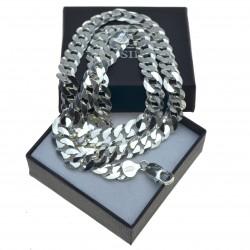 Łańcuszek Męski Srebrny 50cm Szeroki 8,5mm srebro 925