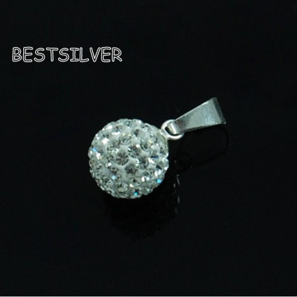 Wisiorek Swarovski Disco Ball 10mm Crystal