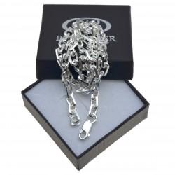 Męski łańcuch ANKIER w całości ze srebra 60cm 60 cm