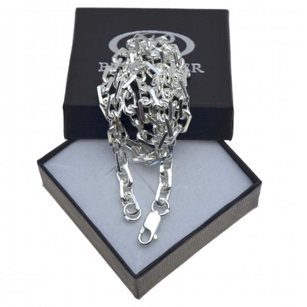 męski łańcuch ANKIER w całości ze srebra 50cm