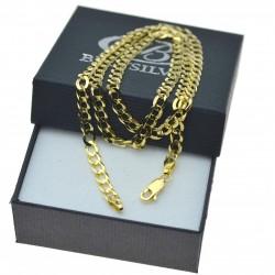 Duży złoty męski łańcuszek naszyjnik Złoto 585