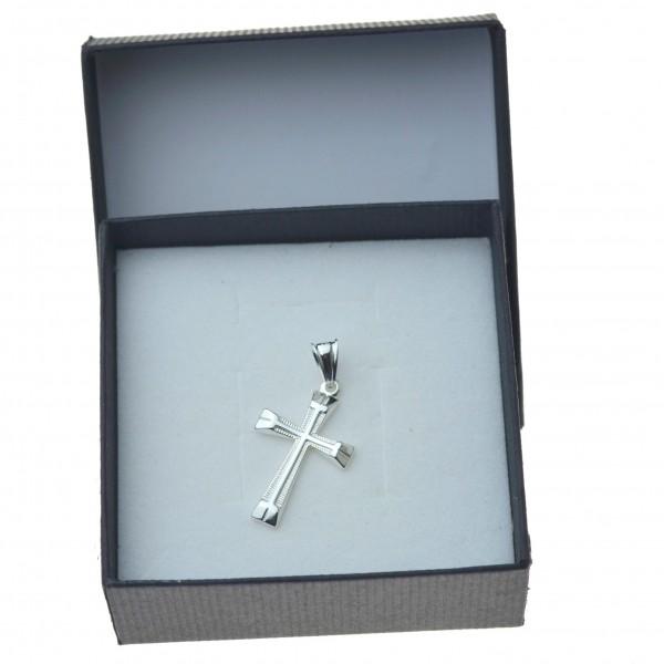 Krzyżyk srebrne prosty i elegancki Srebro próby 925 KR059