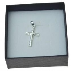 Krzyżyk srebrne prosty i fajny Srebro pr. 925 KR062