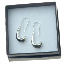 Kolczyki srebrne wiszące damskie srebro próby 925 KOL087