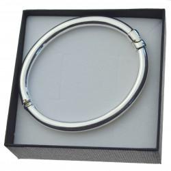 Bransoletka srebrna damska typu bangla 5,5mm srebro 925