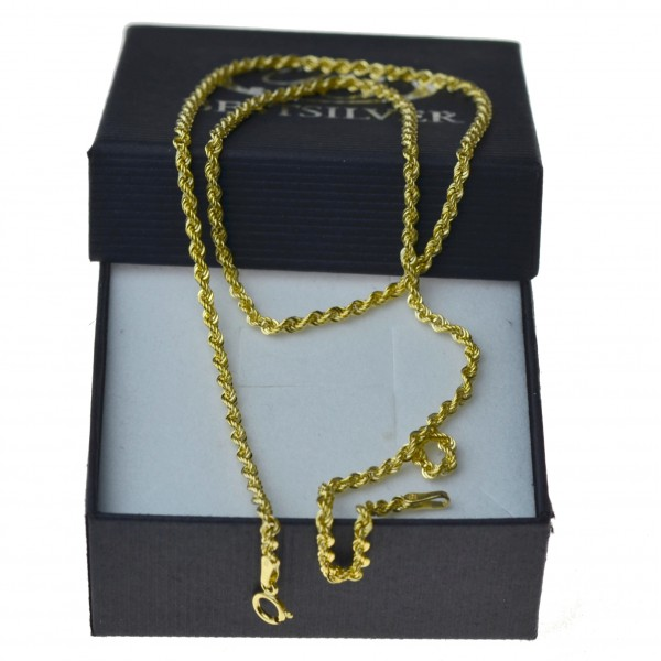 Złoty łańcuszek Damski Korda 50cm 2mm Złoto 333
