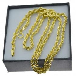 Złoty łańcuszek Damski Korda 50cm 3,5mm Złoto 333