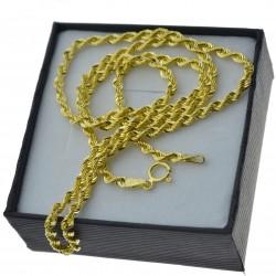 Złoty łańcuszek Damski Korda 50cm 3mm Złoto 333